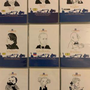 ΣΥΛΛΟΓΗ - 9 CD's ΚΛΑΣΣΙΚΗΣ ΜΟΥΣΙΚΗΣ