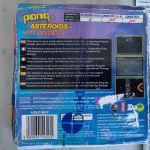 Game Boy Advance Pong & Asteroids & Yars Reverse