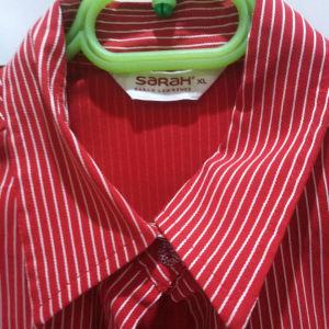 πουκάμισο κόκκινο ριγε