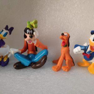 6 Φιγουρες Μικυ,Pluto,Guffy και αλλα