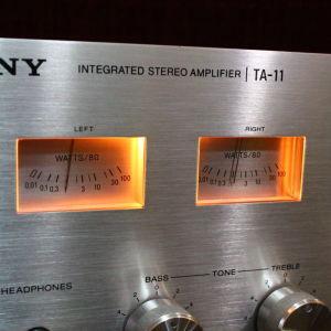 Ενισχυτης Sony TA 11