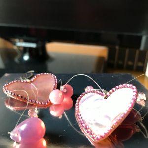 Πανέμορφα καρδιές σκουλαρικια