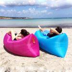 Φουσκωτός καναπές - Στρώμα θαλάσσης Lazy Bag - το Ανθεκτικότερο στην κατηγορία του