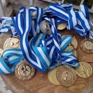 Διάφορα μετάλλια μπάσκετ όλα μαζί 4 ευρώ