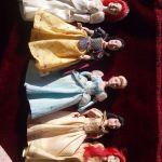 5 Πορσελανινες κουκλες(+ δωρο)