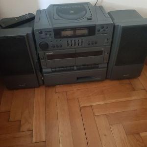 Ραδιοκασετόφωνο philips turbo bass generator AZ 8900/19