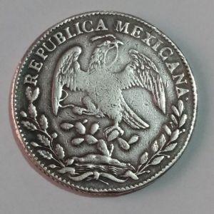 Mexico 8 Reales 1834