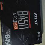 msi b450 a pro max