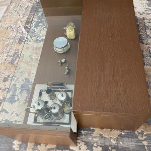 Ξύλινο Τραπέζι σαλονιού δυο τεμαχίων