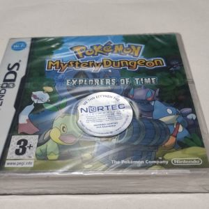 Pokemon Mystery Dungeon: Explorers of Time (Nintendo DS, 2008) ΚΑΙΝΟΥΡΓΙΟ & SEALED