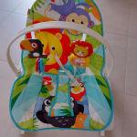 Κούνια - ριλάξ Fisher-Price Infant-to-Toddler Λιονταράκι