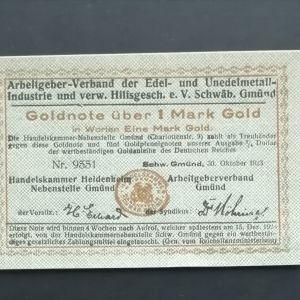 Χαρτονομίσματα Γερμανικά Μάρκα.