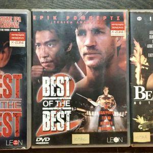 3 Original DvD - Best of the Best 1, 2, 3