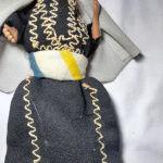 συλλεκτική κούκλα από μέση ανατολή με παραδοσιακή φορεσιά εποχής 1930 40
