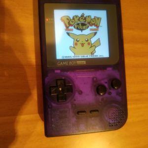 Game Boy Pocket IPS screen+ μία κασέτα δώρο