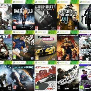 xbox 360 games - γνησια παιχνιδια απο 4 ευρω!!!