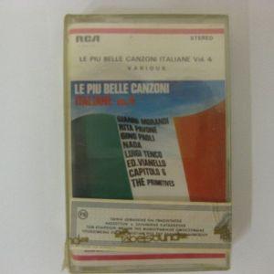 LE PIU BELLE CANZONI ITALIANE VOL.4-VARIOUS - ΚΑΣΕΤΑ