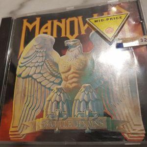 """MANOWAR – """"Battle hymns"""" (Liberty/EMI) heavy/epic metal"""
