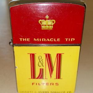 Vintage / συλλεκτικός αναπτήρας L&M (Continental Japan)