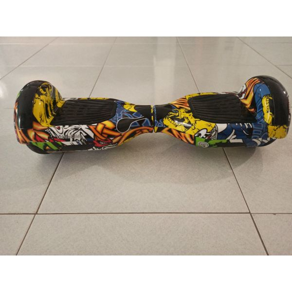 UrbanGlide 65 Lite Multicolor Hoverboard me 15km/h max tachitita ke 20km aftonomia + fortistis