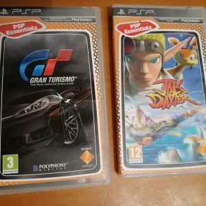 παιχνιδια psp jak and daxter & gran turismo