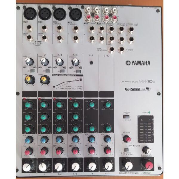 Konsola ichou - miktis ichou YAMAHA MW10C me sindesi USB + Extra