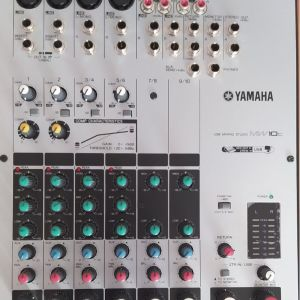 Kονσόλα ήχου - Μίκτης ήχου YAMAHA MW10C με σύνδεση USB + Extra