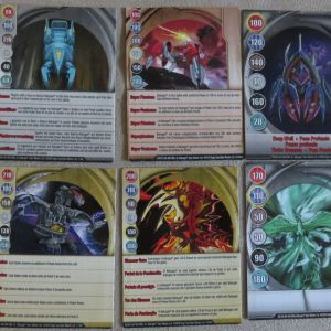 18 καρτες BAKUGAN