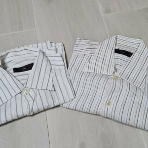 """ZEGNA"" 2 premium cotton ανδρικά πουκάμισα ιδανικά για κάθε ντύσιμο! Δίδονται μαζί ΜΟΝΟ 50 ΕΥΡΩ"
