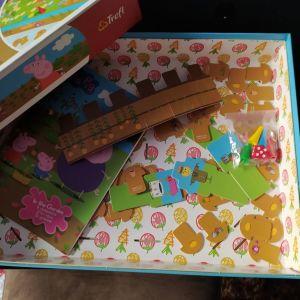Peppa Επιτραπέζιο παιχνίδι - Τρισδιάστατο παζλ