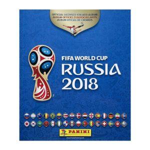 ΑΛΜΠΟΥΜ PANINI RUSSIA 2018 FIFA WORLD CUP ΕΛΛΗΝΙΚΟ ΑΔΕΙΟ
