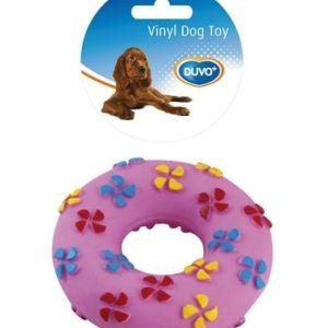 Παιχνίδι σκύλου ροζ κυλινδρος Duvo