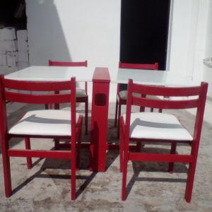 τράπεζι με καρέκλες