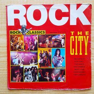 Rock, Hard Rock συλλογή ROCK THE CITY, 2πλος δισκος βινυλιου