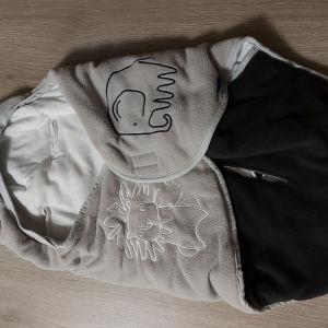 Χειμωνιατικος σάκος μωρού για καρότσι και port bebe