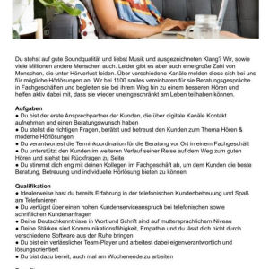 Customer Care Agent in Homeoffice