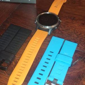 Garmin Fenix 5 Plus Sapphire 47mm (Titanium Orange)