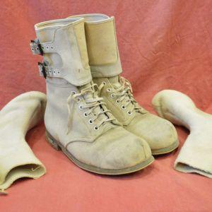 Αμερικάνικες στρατιωτικές μπότες χιονοδρόμων των Ειδικών Δυνάμεων με ισοθερμικές κάλτσες Νο-45 (80 ευρώ)