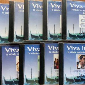 cd ιταλική μουσική ''viva italia''
