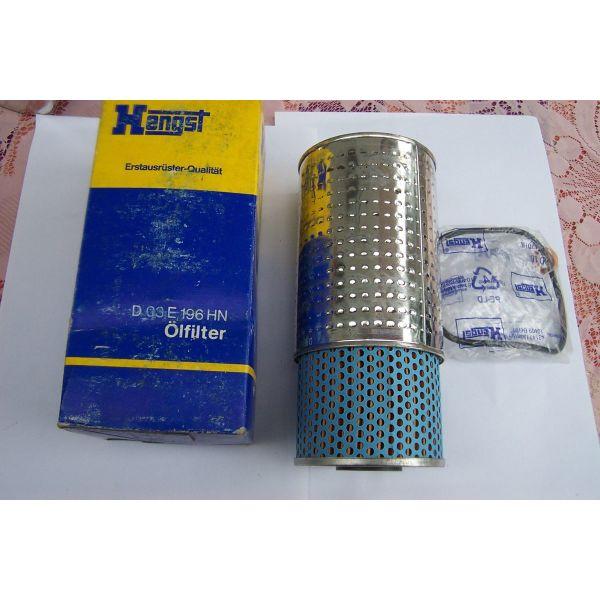 HENGST DO 3E 196 HN-PREMIUM OIL FILTER - filtro ladiou -  MERCEDES BENZ W123 DIESEL-T1/TN 407-409-207-209-307-309-T2/507-G CLASS 240-300 GD