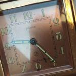 Σπάνιο Ρολόι-Ξυπνητήρι Αρτ Ντεκό Lecoultre δεκαετίας 1930