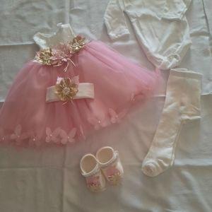 Καινούργιο Φόρεμα  0-3 μηνών