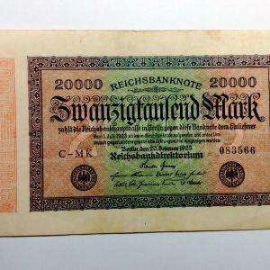 ΓΕΡΜΑΝΙΑ - 20.000 Mark 1923