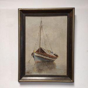 Ιωάννης Φωτεινός, πίνακας λάδι σε καμβά