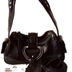 DOLCE&CABBANA τσάντα και ζώνη