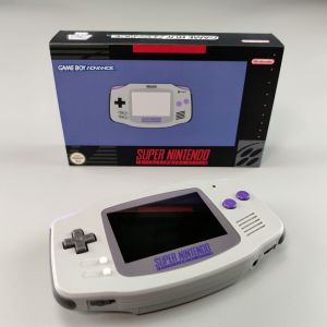 Nintendo Game Boy Advance GBA IPS V2 Super Nintendo Edition
