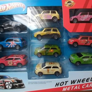 HOT WHEELS metal cars 10pcs