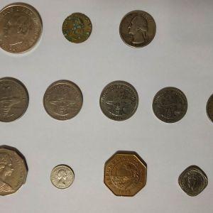 Νομίσματα από διάφορες χώρες, ξεχωριστά, συλλεκτικά, greek coins