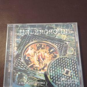 CD ΑΥΘΕΝΤΙΚΑ UNDERGROUND A FILM BY EMIR KUSTURICA