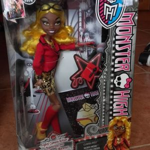 Monster high Clawdia Wolf κούκλα